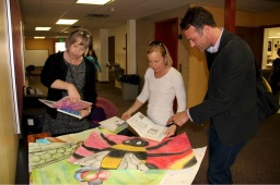 Educators collaborate to implement integrated studies.