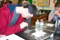 Students participate in inquiry based science in 2012-13 MDEF funded effort The Water Quality Project. Click to read more about it.