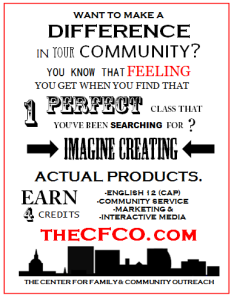 Poster to recruit CFCO students.