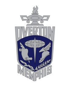 A student designed logo for Overton High School.