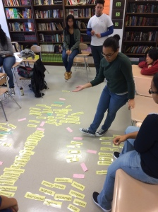 Students study literary devices (Project Photo)