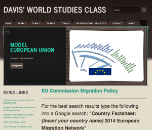 Modern European Union Project http://www.davisworldstudies.com/