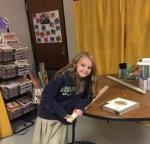 Fourth graders explore creative process skills in Cigar Box Odyssey. (Project photo)