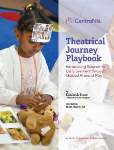 Young child engaging in The Journey Playbook